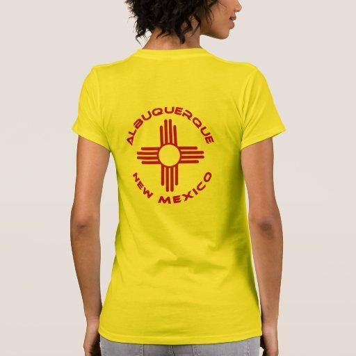 albuquerque new mexico tee shirts zazzle