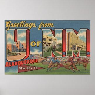 Albuquerque, New Mexico - University of NM Poster