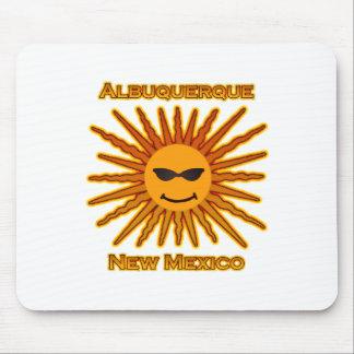 Albuquerque New Mexico USA Sun Logo Mouse Pad