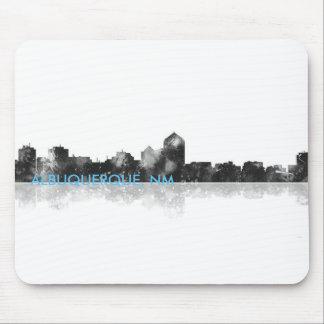 ALBUQUERQUE, NM SKYLINE - Mouse Pad