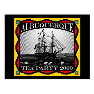 Albuquerque, NM Tea Party - Postcard