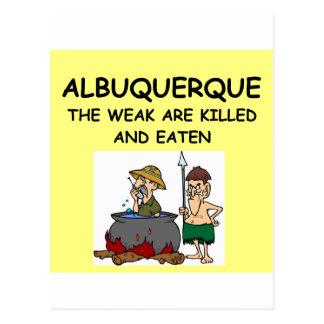 ALBUQUERQUE POSTCARDS