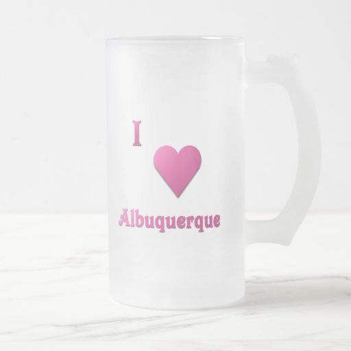 Albuquerque -- Rosas fuertes Tazas De Café