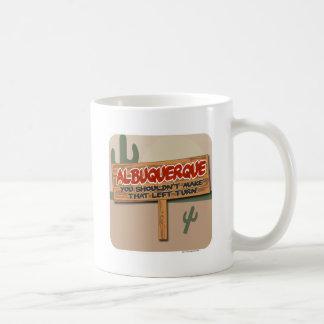 Albuquerque se fue taza de café