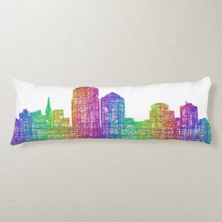 Albuquerque skyline body pillow
