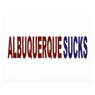 Albuquerque Sucks Postcard
