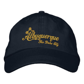 Albuquerque, The Duke City Embroidered Baseball Hat