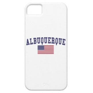 Albuquerque US Flag iPhone SE/5/5s Case