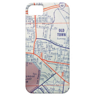 ALBUQUERQUE Vintage Map iPhone SE/5/5s Case
