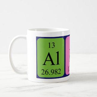 Alby periodic table name mug