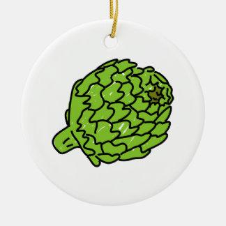 Alcachofa de globo ornaments para arbol de navidad