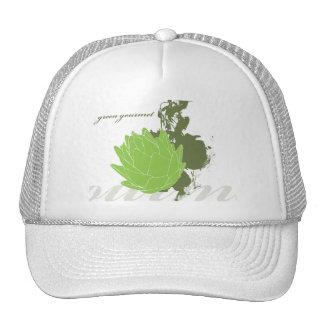 Alcachofa gastrónoma verde gorras de camionero