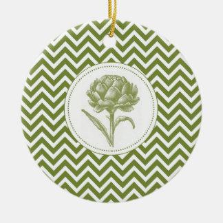 alcachofa moderna del vintage adorno de navidad