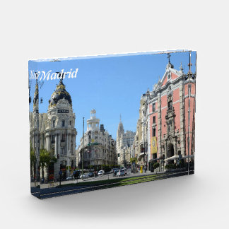 Alcala and Gran Via Street, Madrid Award