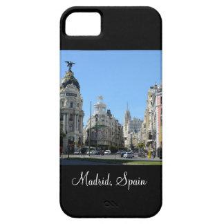 Alcala and Gran Via Street, Madrid iPhone 5 Case