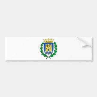 Alcalá de Henares (Spain) Coat of Arms Car Bumper Sticker