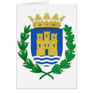 Alcalá de Henares (Spain) Coat of Arms Greeting Card