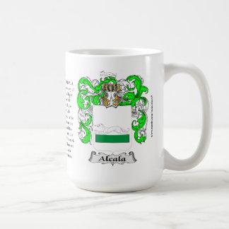 Alcala, el origen, el significado y el escudo taza