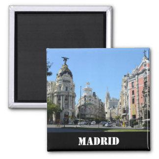 Alcala y Gran vía la calle, imán de Madrid