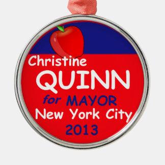 Alcalde 2013 de la canilla NYC Ornamento Para Reyes Magos