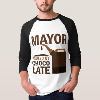 Alcalde chocolate (divertido) playera