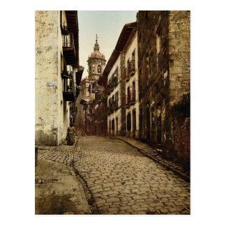 Alcalde de Calle, Fuenterrab&iacutea, vintage Pho  Postales