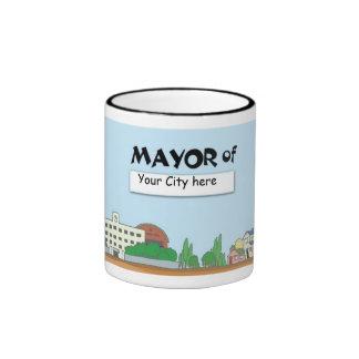 ¿Alcalde de? Ciudad - taza