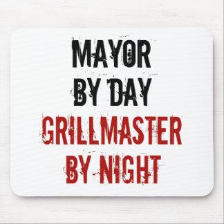Alcalde de Grillmaster Alfombrillas De Raton