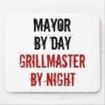 Alcalde de Grillmaster Tapete De Ratón