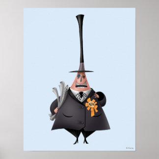 Alcalde de la ciudad 1 de Halloween Póster
