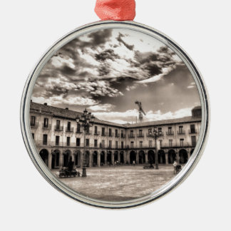 Alcalde de la plaza de León Ornamento De Navidad