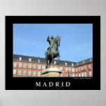 Alcalde de la plaza, poster de Madrid