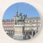 Alcalde de la plaza, práctico de costa de Madrid Posavasos Cerveza