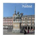 Alcalde de la plaza, teja de Madrid