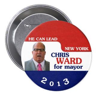 Alcalde de la sala NYC de Christopher en 2013 Pin