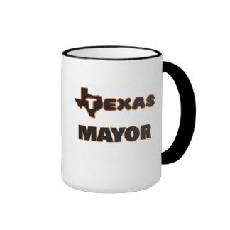 Alcalde de Tejas Taza A Dos Colores