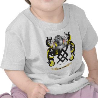 Alcalde escudo de armas (escudo de la familia) camisetas