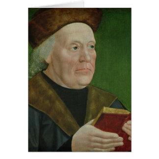 Alcalde Hermann Langenbeck, c.1515 Tarjeta De Felicitación