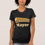 Alcalde impresionante camisetas