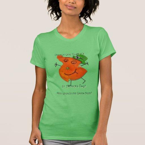 Alcalde Orange O'Paddy (para ella) Camiseta