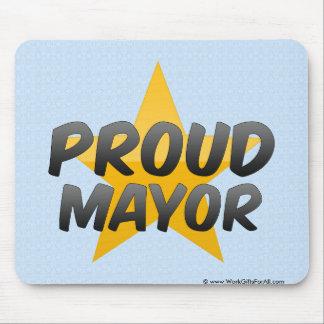 Alcalde orgulloso mouse pads