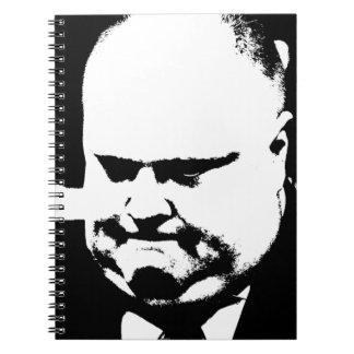 Alcalde que fuma Rob Ford de la grieta de Toronto Cuaderno