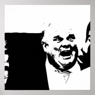 Alcalde que fuma Rob Ford de la grieta de Toronto Poster