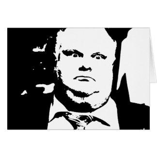 Alcalde que fuma Rob Ford de la grieta de Toronto Tarjeta De Felicitación