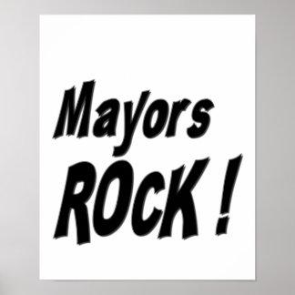 ¡Alcaldes Rock Impresión del poster