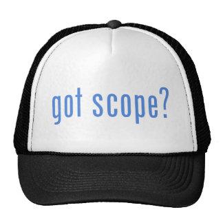¿alcance conseguido? gorras