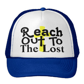 Alcance hacia fuera gorras