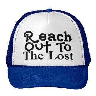 Alcance hacia fuera gorra