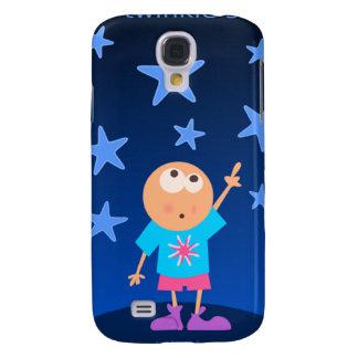 alcance para el caso del iPhone 3 de las estrellas