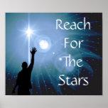 Alcance para el poster de las estrellas